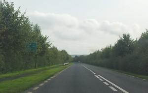 Irish road signs. A hidden signs.