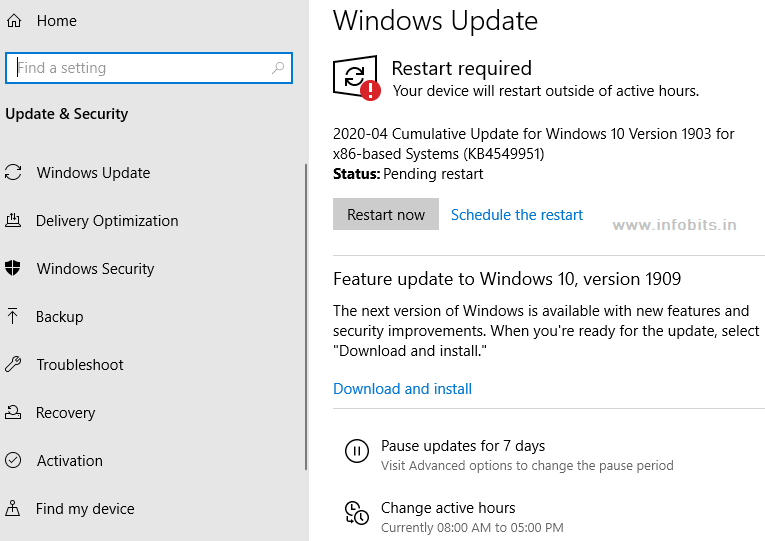 Windows update-things to do after installing windows 10