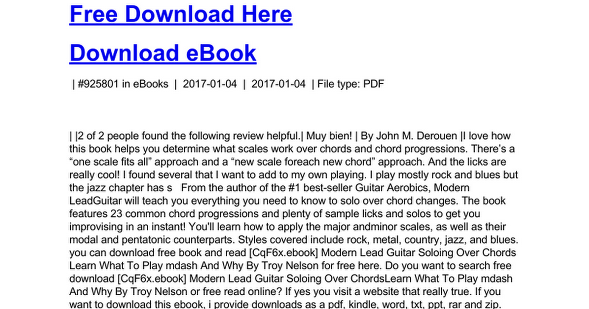 Modern Lead Guitar Soloing Over Chords Learn What To Play Mdash And