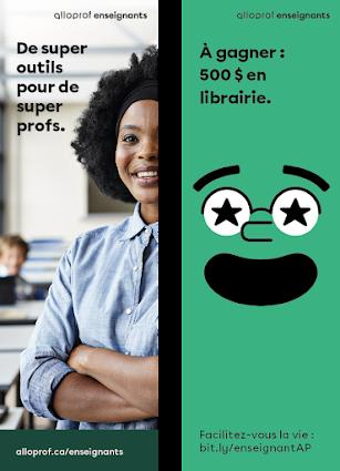 Signets Alloprof Enseignants - Maximum 100 par école