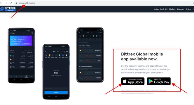 Tải tại Website Bittrex