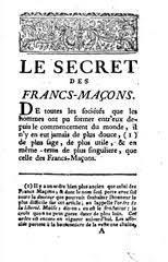 """Resultado de imagen para le secret des frères maçons"""""""