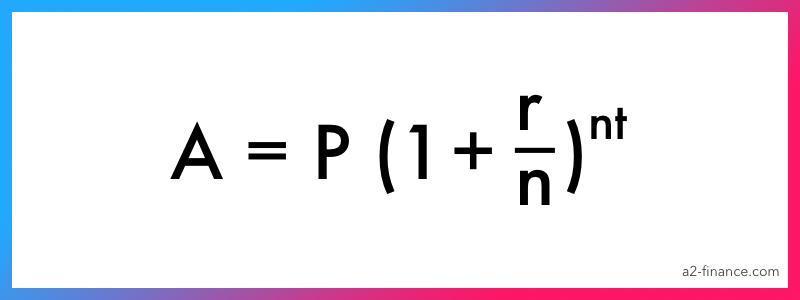 Compound interest formula 2