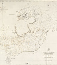 Owen Stanley's chart of the Torres Strait