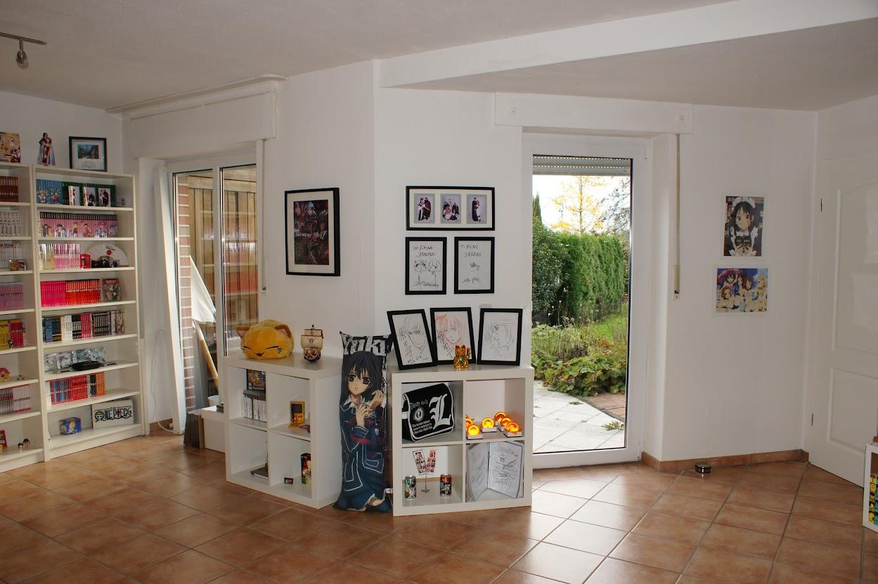 Manga Sammlung Otaku Zimmer