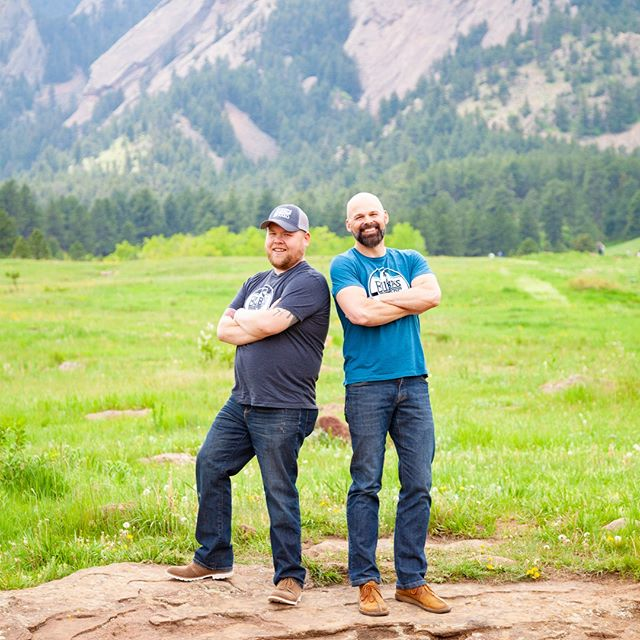 Jeff and Jared in Colorado.