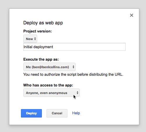 Using Slack Slash Commands to Send Data from Slack into Google Sheets