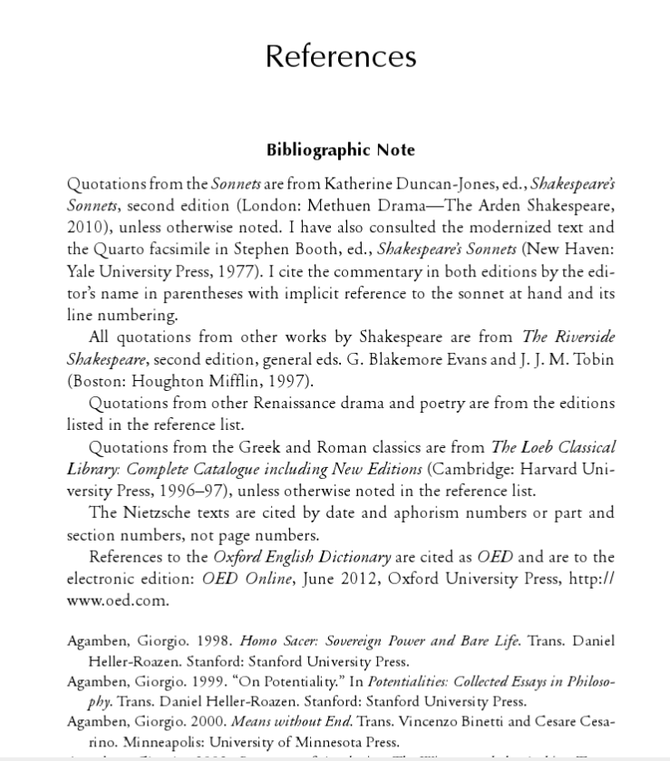 Example of a References Page
