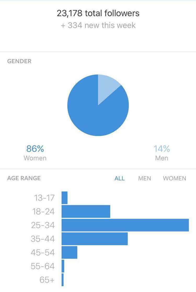 Instagram metrics for a brand ambassador program