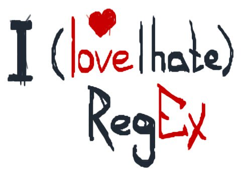 I love or hate regex