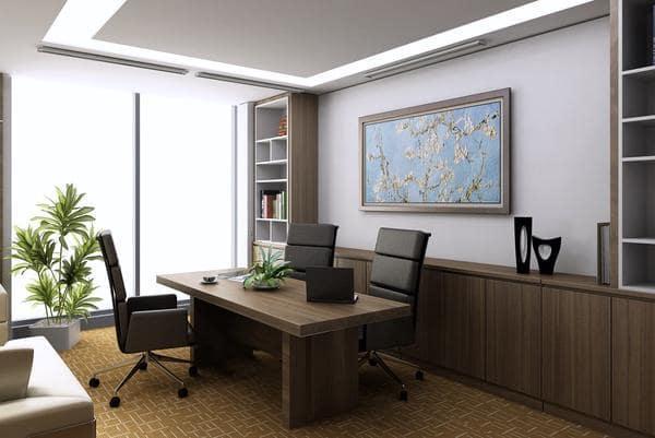 Bài trí nội thất cho phòng giám đốc nhỏ