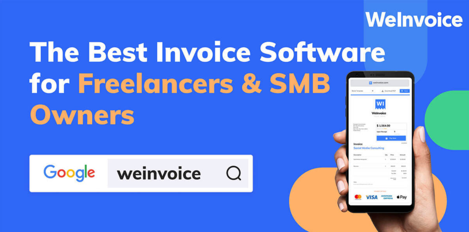 WeInvoice Review - Best Tool for Generating Invoices Online for Free 1