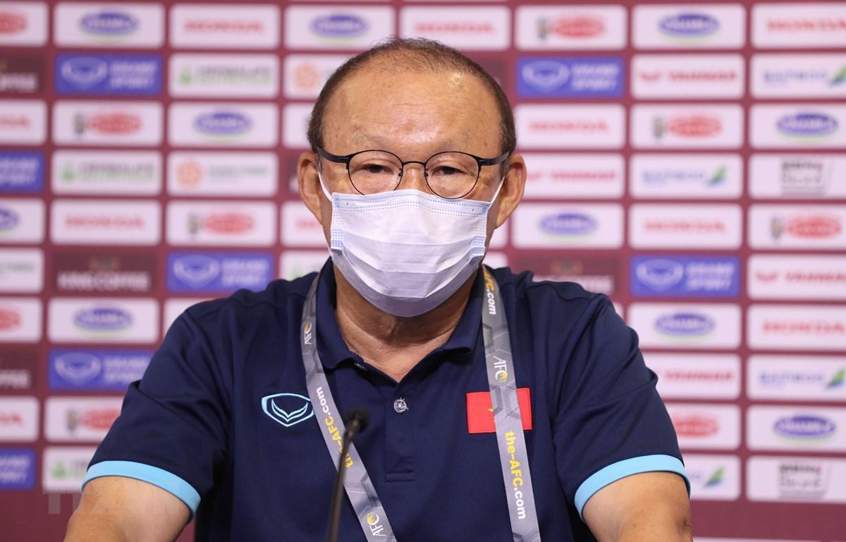 HLV Park Hang-seo bị cấm chỉ đạo trận đấu tuyển Việt Nam gặp UAE   Bóng đá    Vietnam+ (VietnamPlus)