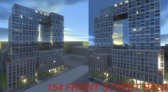 154 Front St. East rendering, Toronto, Cityzen condo, architectsAlliance design