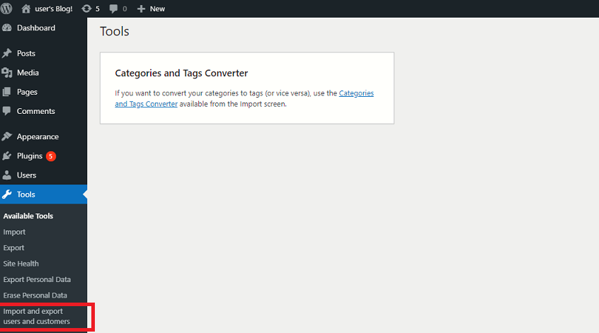 Export and Import Users on Your WordPress Website