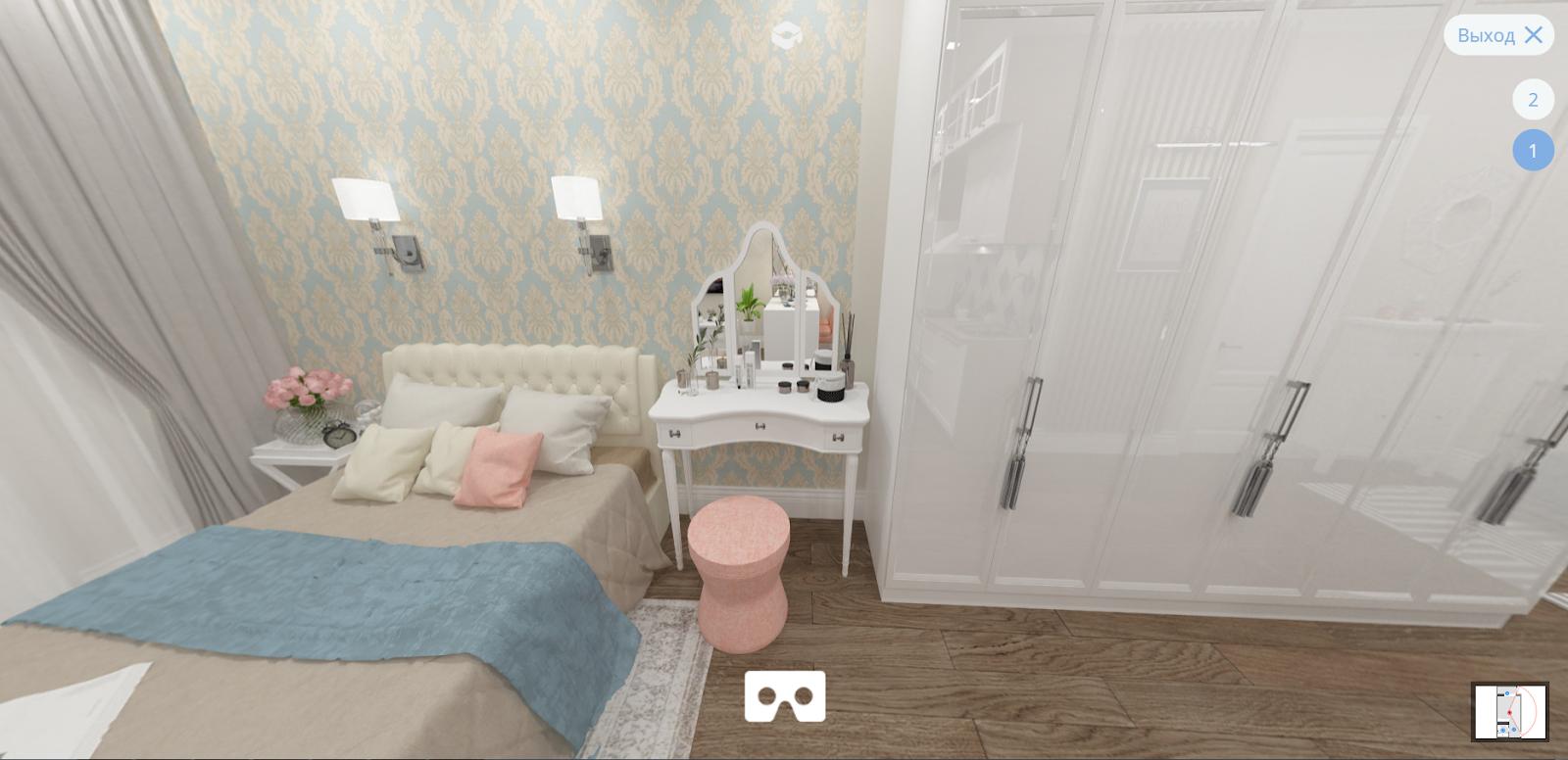 Дизайн-проект компактной квартиры для молодой девушки