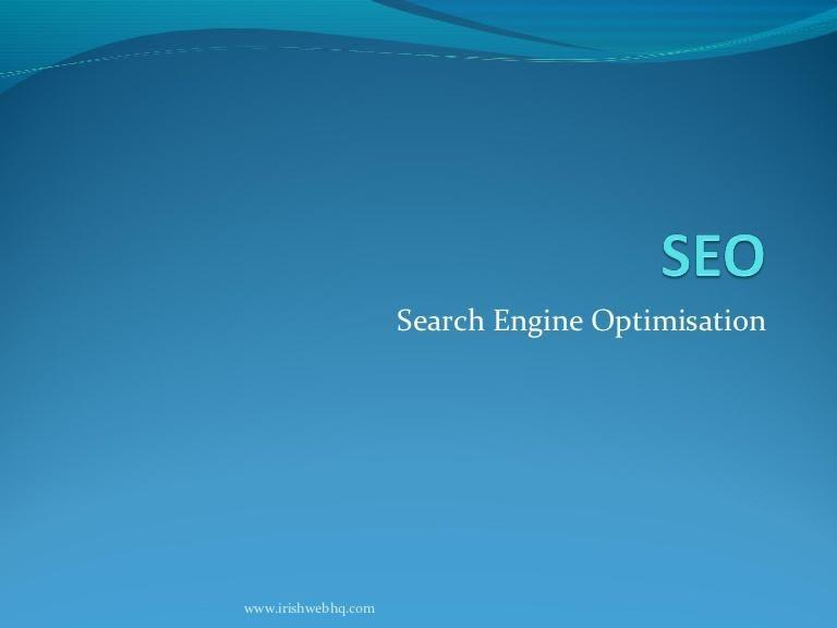 Search Engine Optimization for Website in 2021