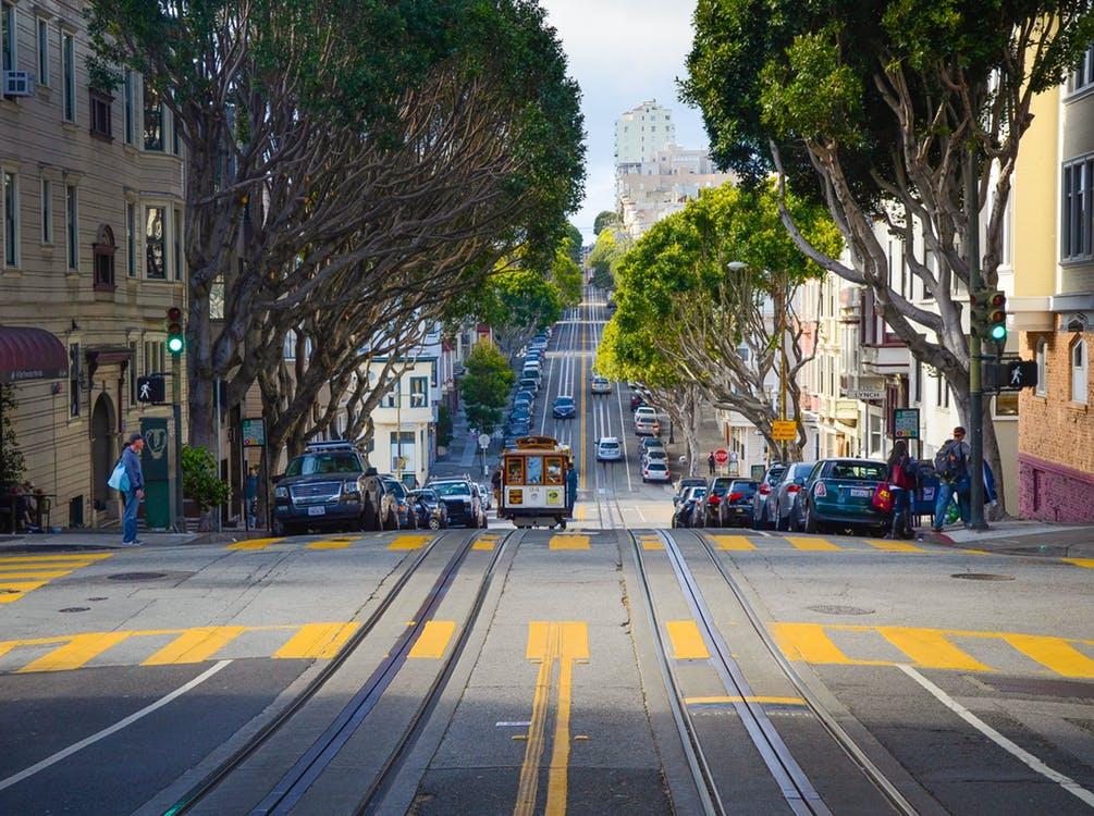 A San Francisco street