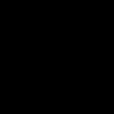 Marke 5 mit einfarbiger Füllung