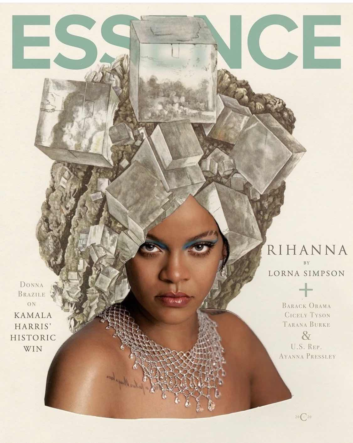 Rihanna for Essence