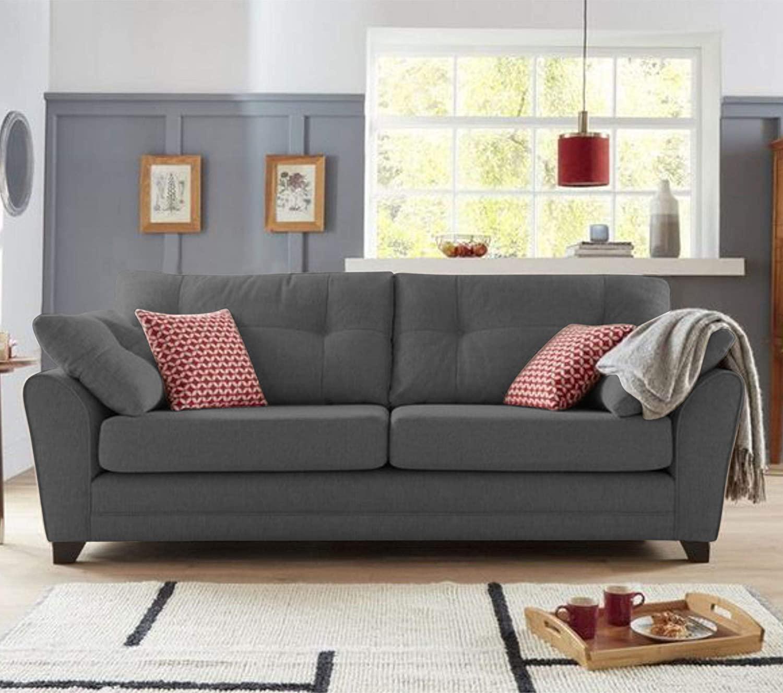 SofaArchitect Moris 3 Seater Fabric Sofa