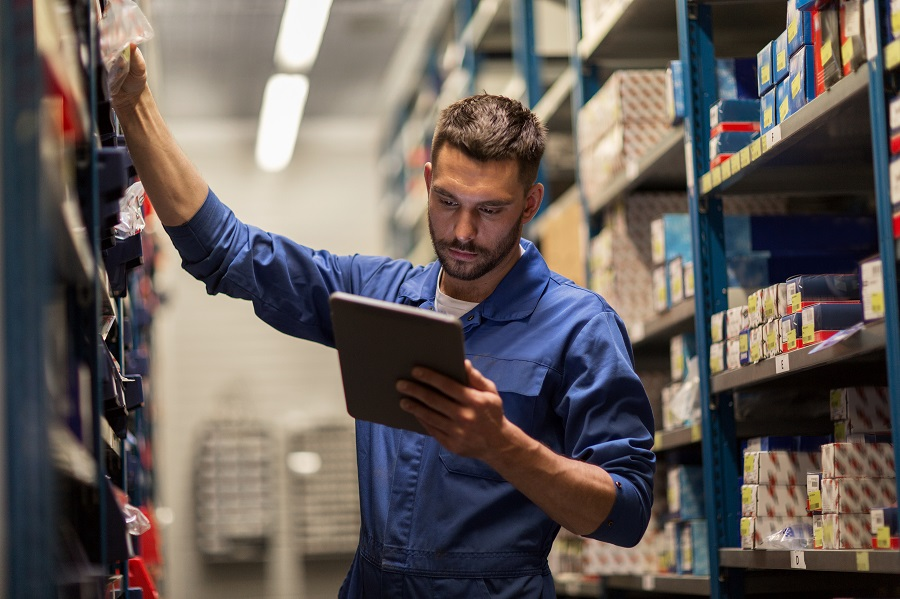 Optical Character Recognition App to Increase the Efficiency of the Logistics Department