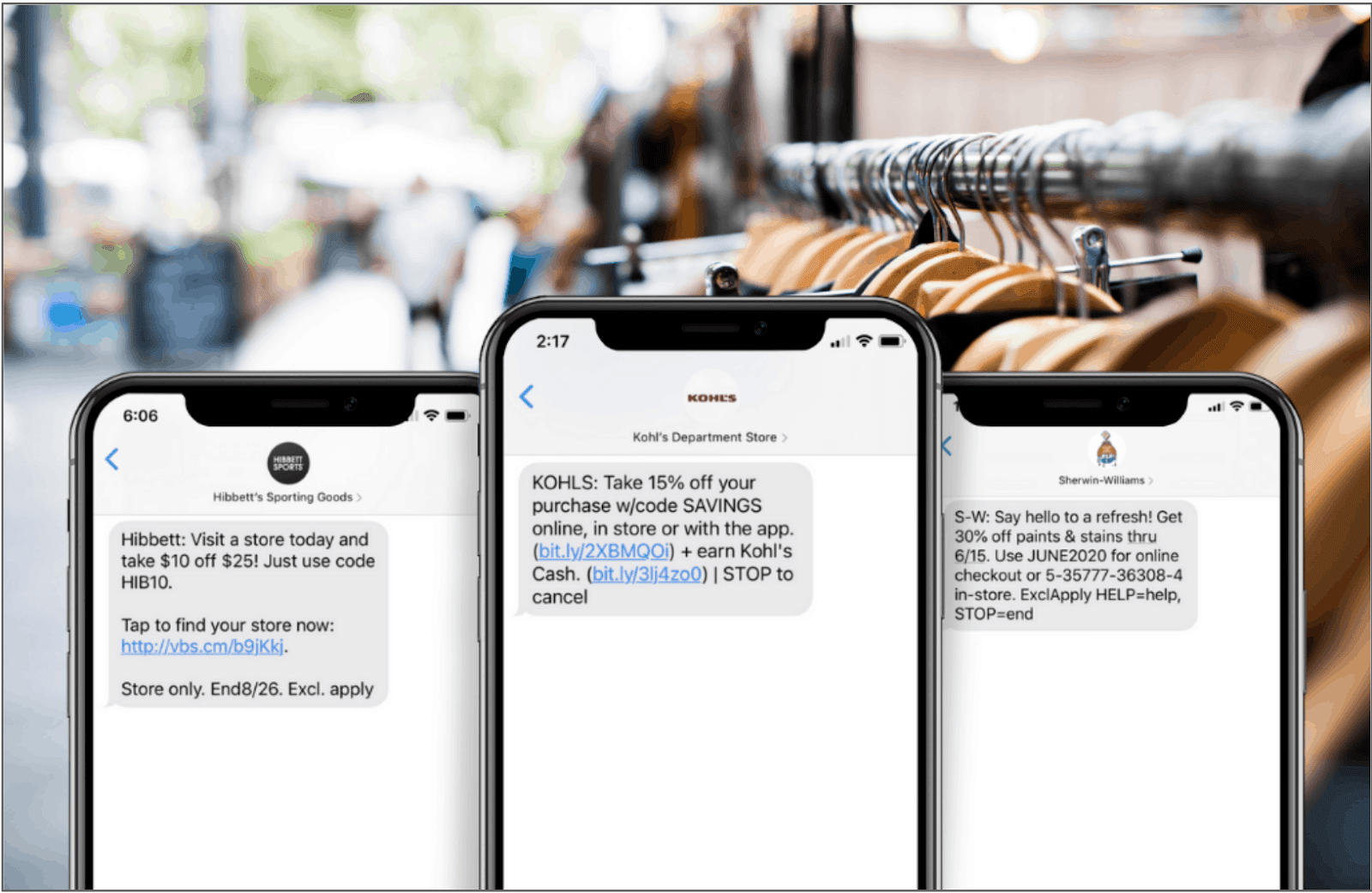 mass texting service with marketing