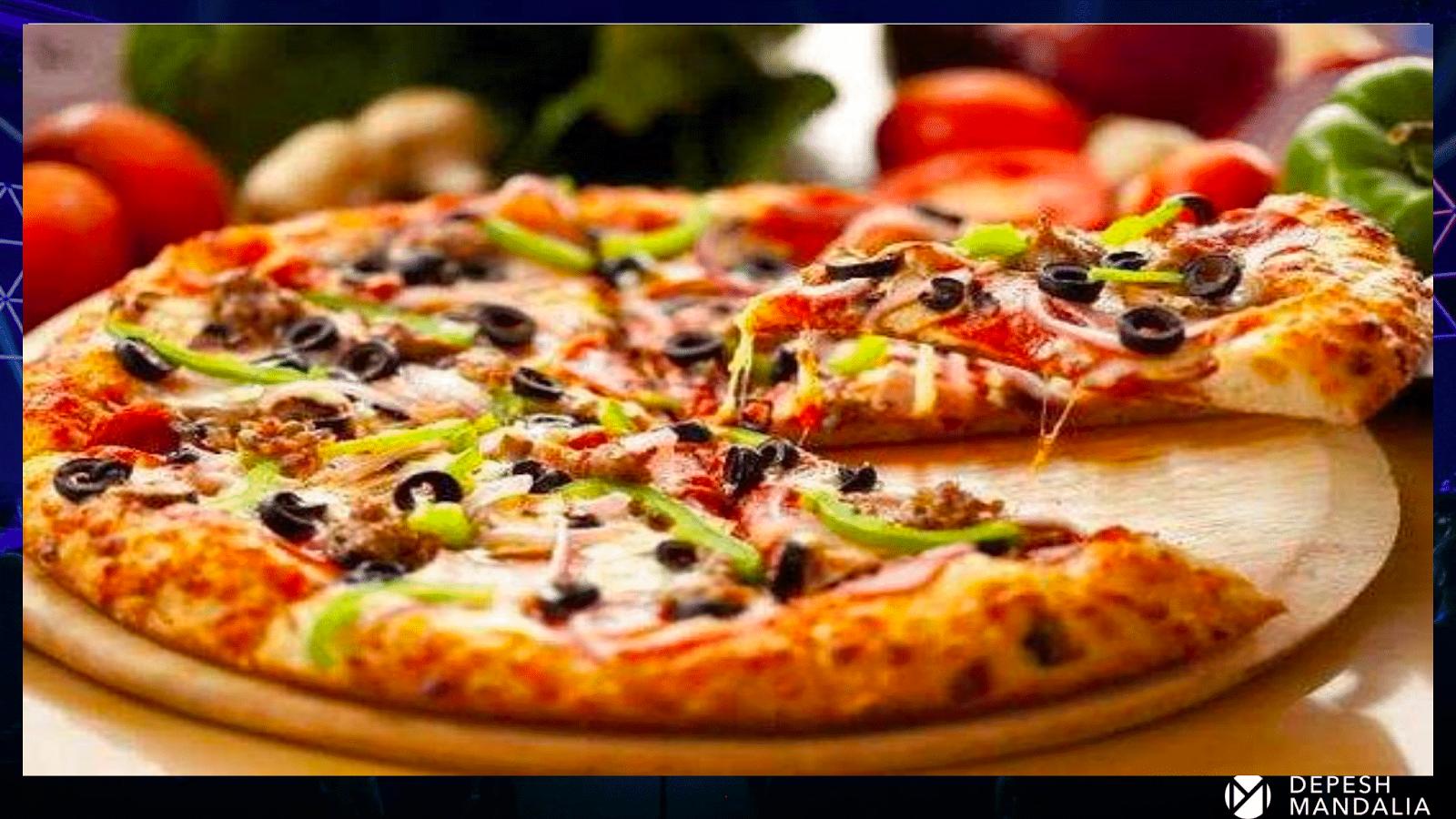Первая пицца от Депеша Мандалии