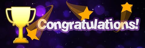 congratulations by Sean