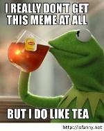 Image result for drinking tea meme