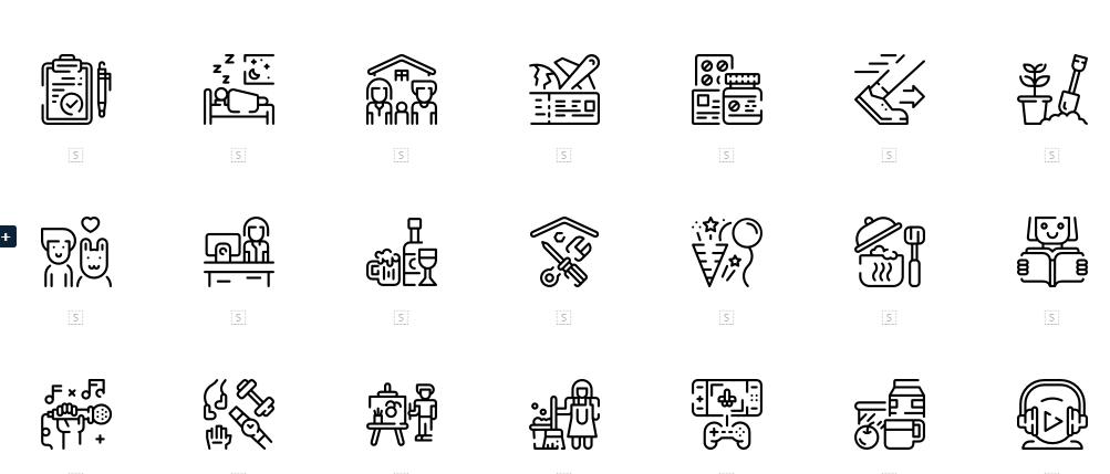 icônes design