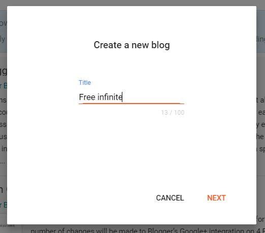 Insert your blog tittle
