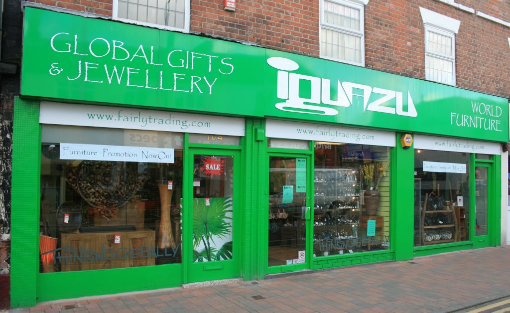 An image of 'Iguazu', which is ranked 5th in our 'Top 5 Independent Retailers in Nottingham' list.