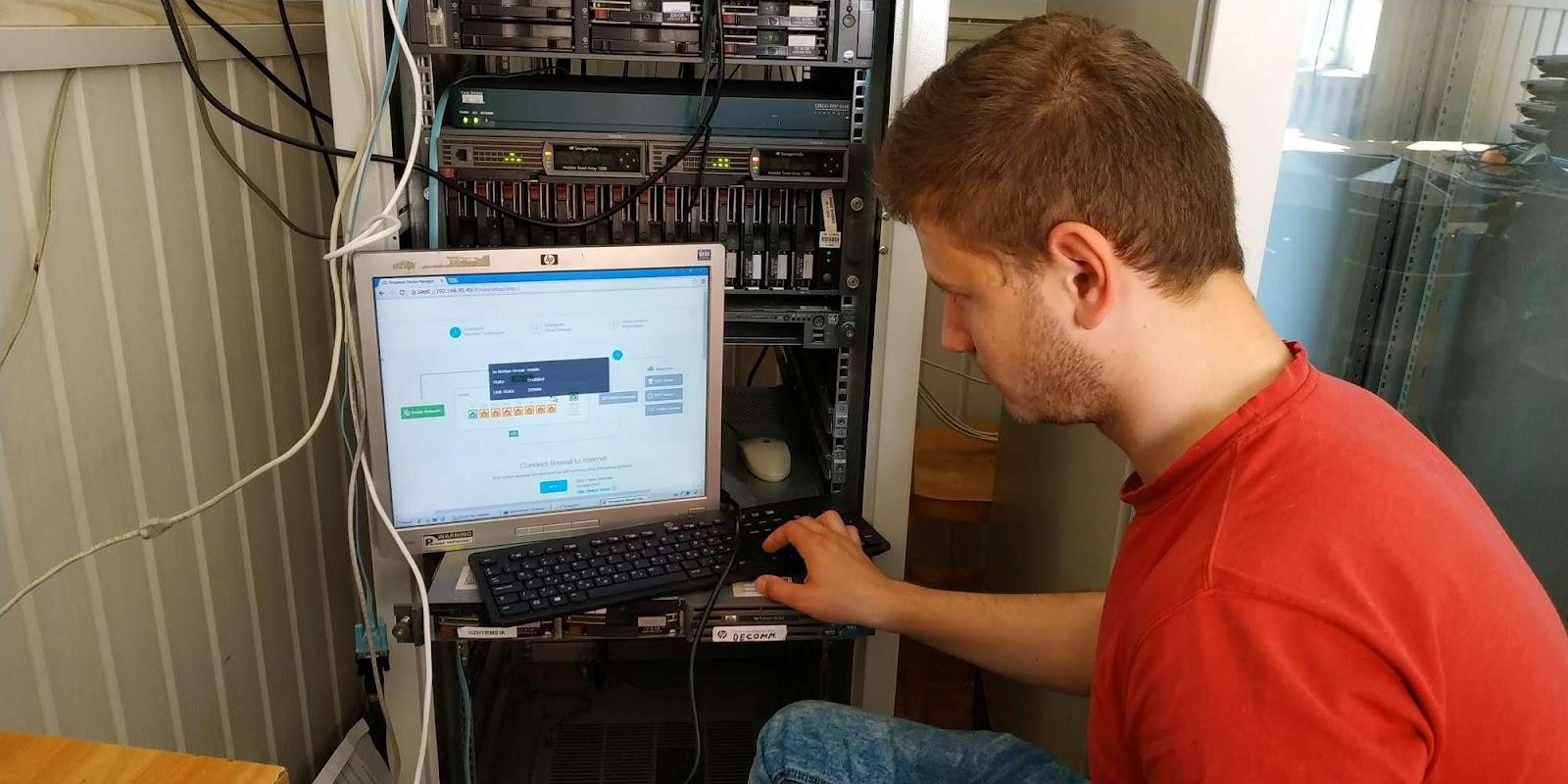 У лабораторії комп'ютерної безпеки