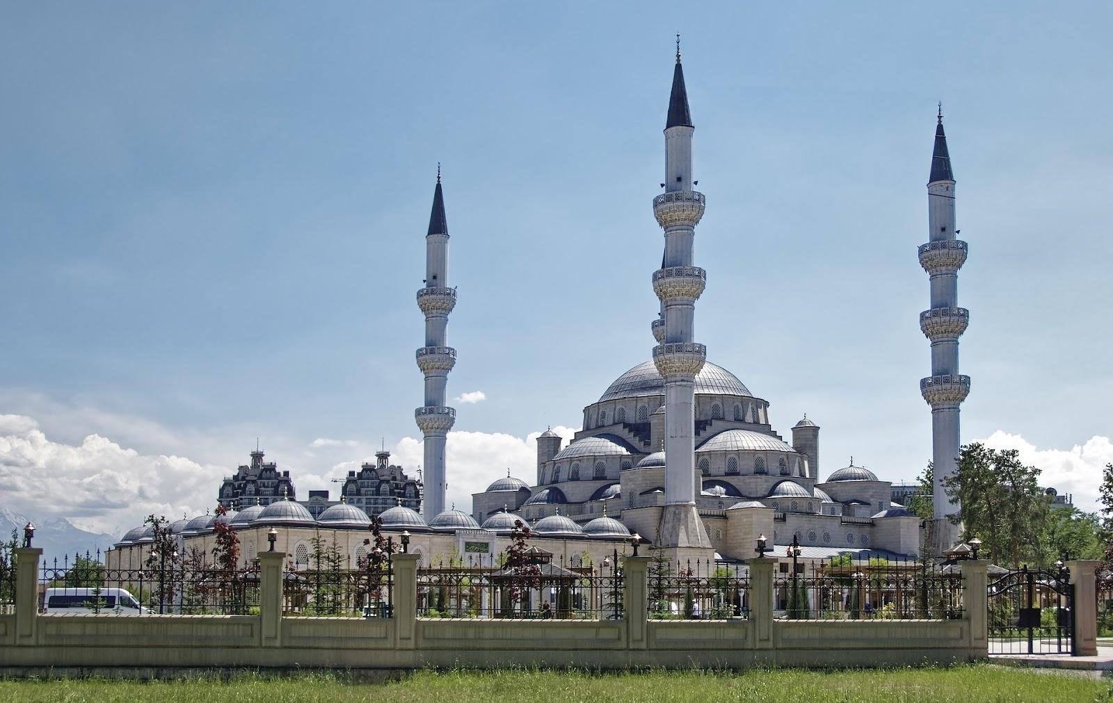 中央アジアの風景