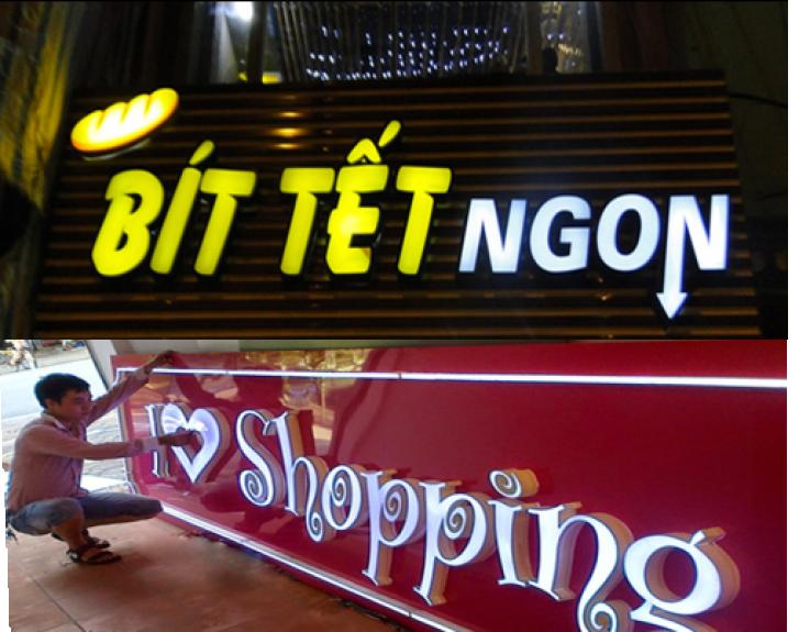 địa chỉ làm biển quảng cáo tại Hà Nội