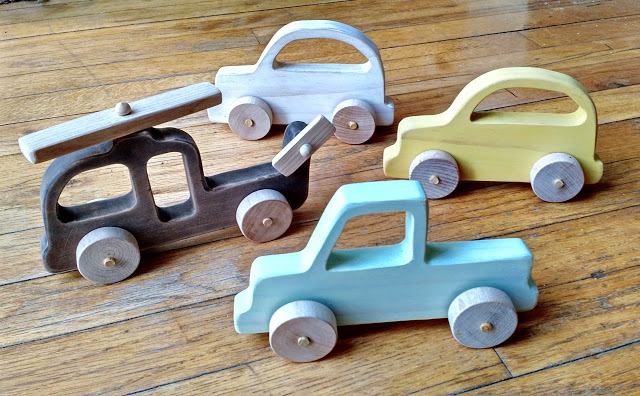 Toy Trucks and Cars: These will help you make some money.