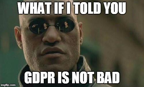 Je GDPR opravdu takové zlo?