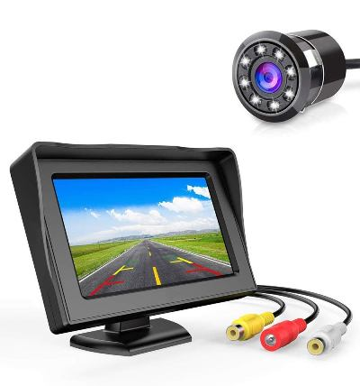 Carzex 4.3 Reverse Camera with monitor
