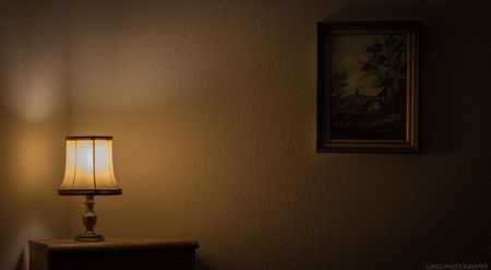 睡眠光線影響示意圖