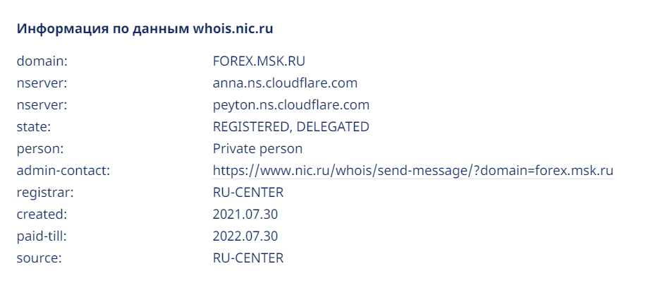 Отзывы о Forex.msk.ru: проверка документов —  Обман? обзор