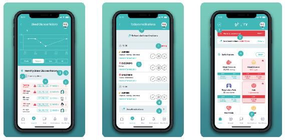 Gherry app screenshots