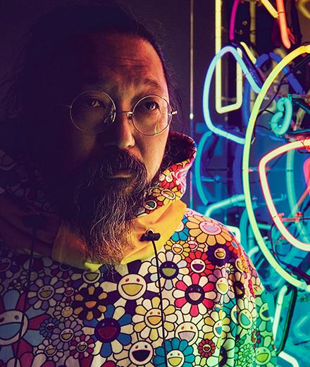 Takashi Murakami. Image from Numéro Magazine.