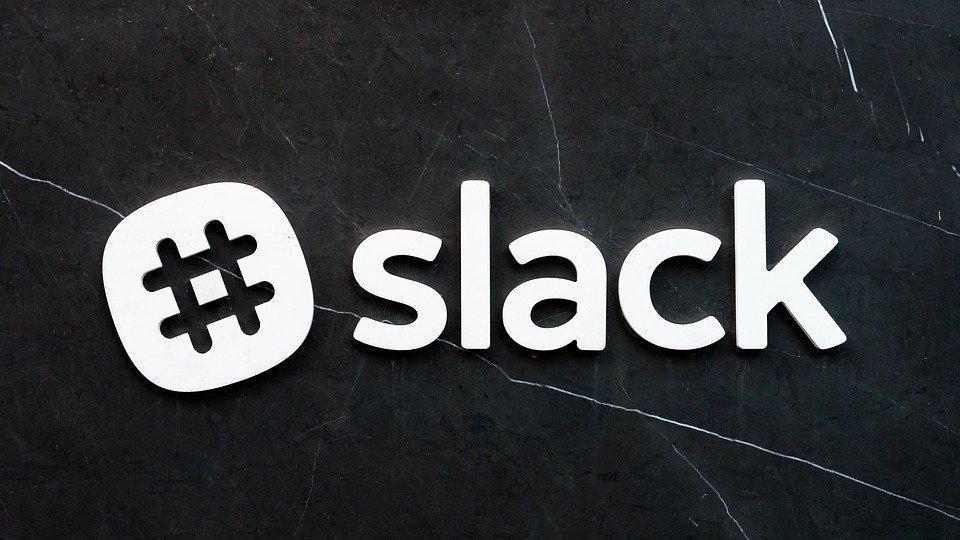 Logo, Sign, Symbol, Slack, Gray Logo