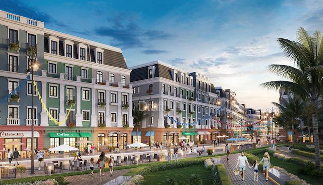 Dự án shophouse Melodia Boutique Bãi Kem gồm 168 căn