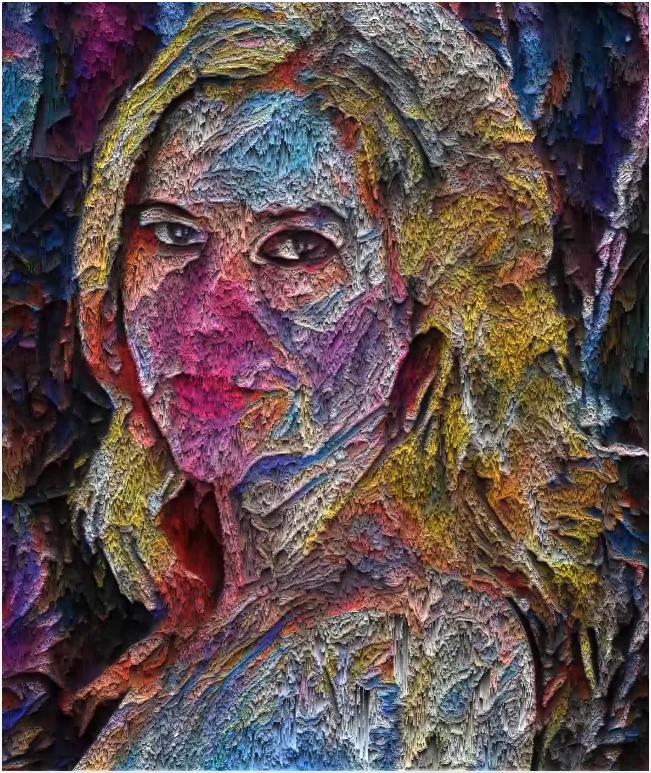 Digital artist Sarah Zucker is a crypto supporter.