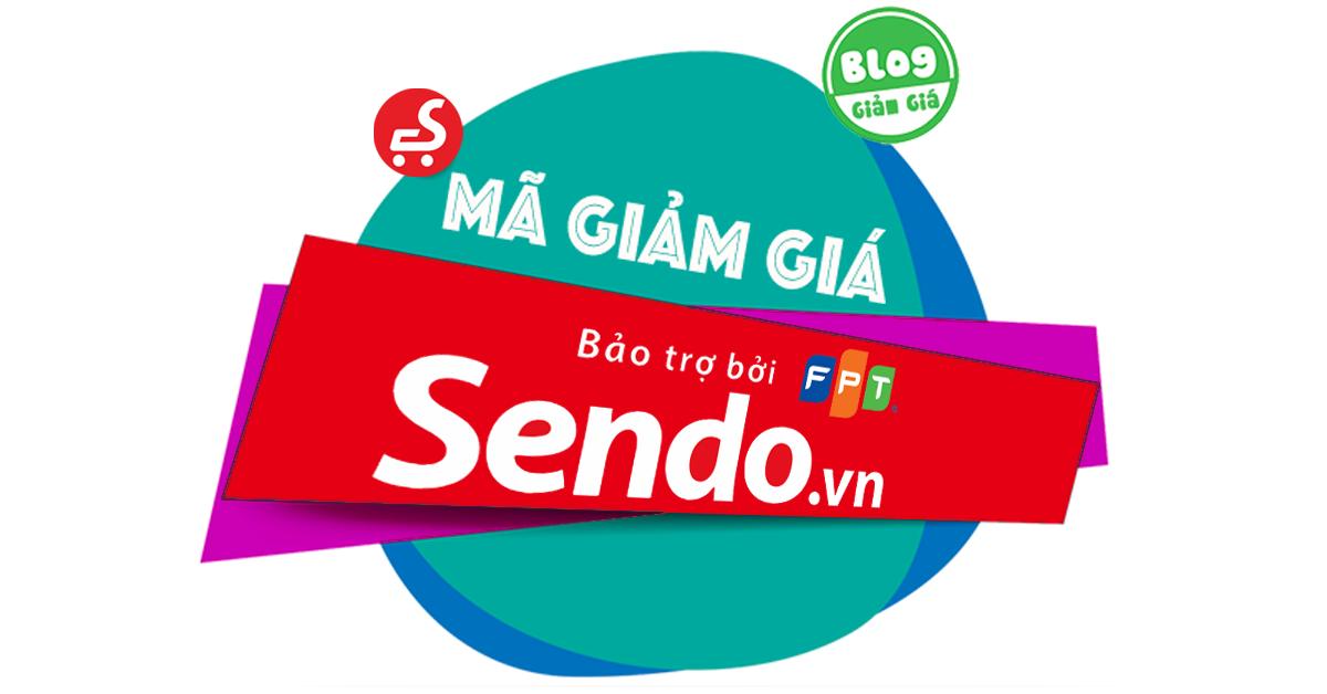 Voucher hấp dẫn cho khách hàng Sendo