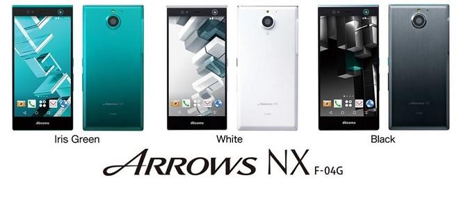 Fujitsu giới thiệu điện thoại Arrows NX F-04G với công nghệ quét mống mắt