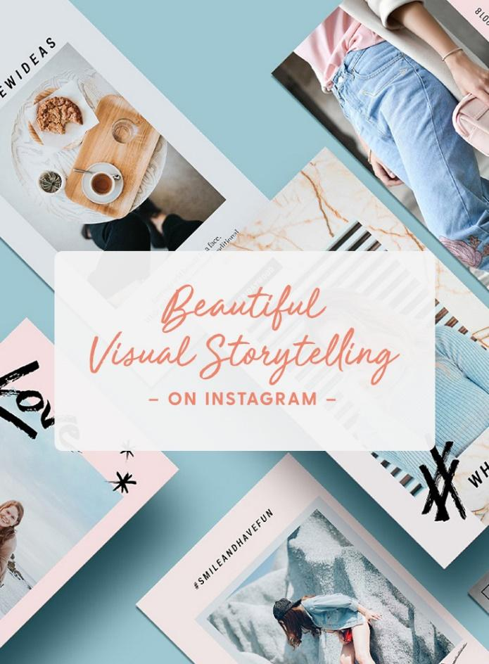 Image result for visual storytelling examples instagram