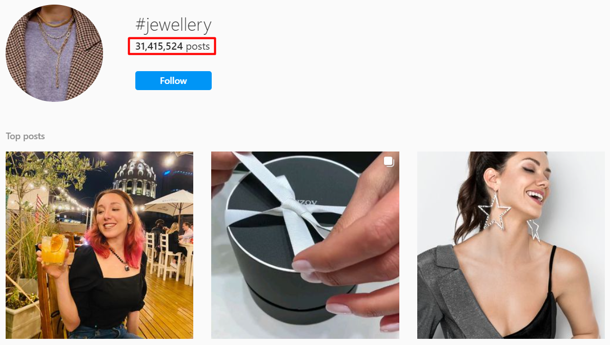 Other than finding users by bio, you can also get targeted instagram email lists by scraping hashtags.